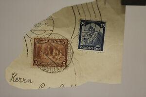 2 selten very old stamp Colombia Briefmarke Kolumbien Brief um 1935