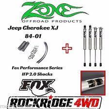 "Zone 3"" Jeep Cherokee XJ 84-01 Suspension Lift for Chrysler w Fox Performance IF"