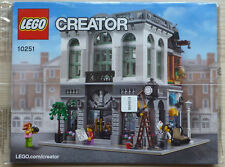 LEGO® Creator BAUANLEITUNG für 10251 Steinebank Brick Bank NEU ONLY INSTRUCTION