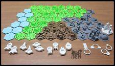 Terraforming Mars 3D 80 tiles - Gioco da tavolo personalizzato 80 tasselli