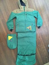Lib Tech Sleeping Bag Jacket Combo - RARE and VINTAGE - Green Puffer - Lot of 2