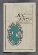 THE LIFE OF JANE AUSTEN - John Halperin (1st Edition dj 1984)
