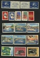ROMANIA STAPS AND BLOCKS STAMPS, 1960-1988 EURO **+USED