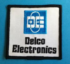 1990's AC Delco Electronics NASCAR Racing Hat Hipster Jacket Patch Crest 029T