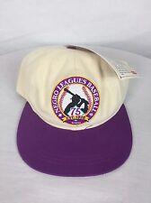NEW! Rare VTG 1995 Negro League Baseball Adjustable SnapBack Hat OSFA With Tags