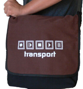 Transport Messenger Bag -- Medium  size- DAW shuttle