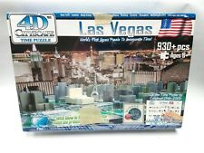 4D Cityscape Las Vegas TIME Puzzle New Sealed Nice!