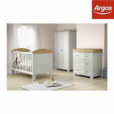 Mamas & Papas Harrow 3 Piece Furniture Set Wardrobe Chest of Drawers Baby Cot