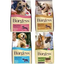 Burgess Excel Sensitive Adult Puppy Dog Food 2KG 12.5KG Lamb Salmon Turkey
