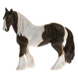 Country Life Leonardo Skewbald Brown & White Cob Ornament Horse Lover NEW Gift