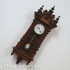 Nußbaum Bim Bam Uhr Freischwinger Georg Dippel Cassel D.R.P. Gründerzeit um 1900