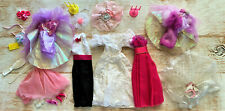 Barbie Doll Clothes & Accessories Lot ~ Mixed Brands ~ Wedding / Shabby Chic