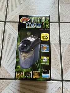 Zoo Med Turtle Clean 15 Gallon Filter BRAND NEW, Never Used (OPEN BOX)