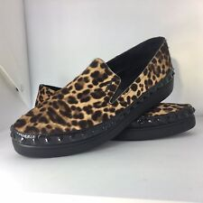 a7fee58cbb Sold Out Prada Linea Rossa Leopard Print Calf Hair Loafer Shoes 40 6.5 RRP  $720