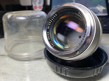 Carl Zeiss Sonnar 85mm f/2 Silver Contarex Lens