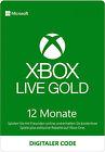 [VPN Aktiv] Xbox Live Gold 12 Monate Mitgliedschaft Xbox One Series X S Code