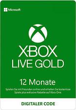 [VPN Aktiv] Xbox Live Gold 12 Monate Mitgliedschaft Xbox One Series X|S Code
