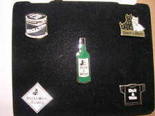 PIN'S WHISKY BLACK AND WHITE  / LOT DE 5 /  SCOTTISH TERRIEN