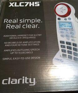 Clarity XLC7HS Additional Cordless Handset for XLC7BT