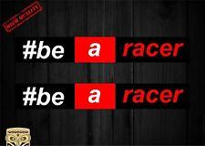 PEGATINA ADESIVO AUTOCOLLANT ADESIVI STICKER DECAL AUFKLEBER APRILIA #BE A RACER