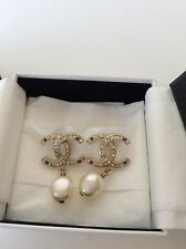 Chanel Brand New Classic CC Earrings