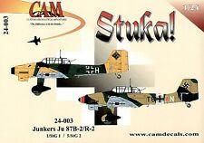 CAM 1/24 Junkers Ju-87B-2/R2 'Stuka' # 24003