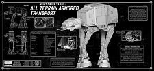 Star Wars Battle of Hoth AT-AT All Terrain Armored Transport Framed SpecPlate