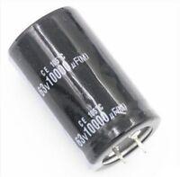 2x ELNA 10000uF 63V Amplifier Capacitor Audio Electrolytic Capacitance 30x50mm