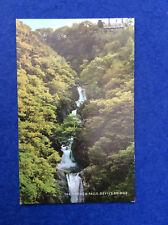 Coloured postcard: Cardiganshire, Devil's Bridge, Mynach Falls