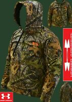 Under Armour Men's MOSSY OAK OBSESSION Camo Fleece Hoodie (DX-18)