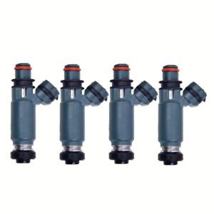 4pcs Flow Matched  Fuel Injectors for 2002-2005 Subaru Impreza WRX 2.0L I4 DENSO