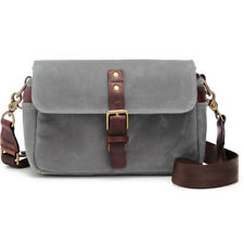 NEW ONA BOWERY CAMERA BAG CANVAS SMOKE WATER-RESISTANT WAXED CANVAS DSLR BAGS