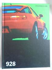 Porsche 928 GTS range brochure Jul 1994 German text hardbacked