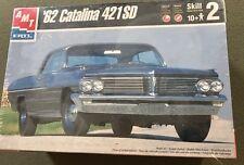AMT 1962 PONTIAC CATALINA 421SD 62 Scale 1:25 Skill 2