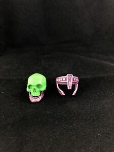 Mythic Legions Kronnaw Head Skull Crown Part Accessory Wasteland Skeleton Motu