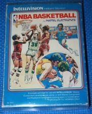 Boxed Intellivision Game: NBA Basketball