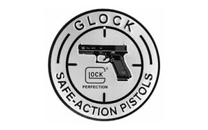 Glock Perfection OEM Safe Action Aluminum Sign One sided