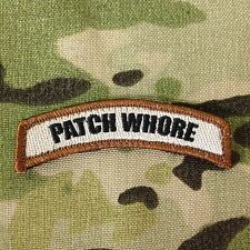 Tactical Outfitters - Patch Whore Tab Morale Patch