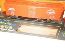 WEAVER TRAINS - ONTARIO NORTHLAND BOXCAR- ORANGE - LCAC  -  NEW 0/027- -B10