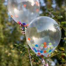 10-50 Clear Balloon Transparent Balloons for Wedding Birthday party confetti
