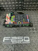 2002 FORD F250 F350 EXCURSION FUSE BOX WITH FUSES & RELAYS 2C7T-14A067-AP