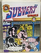 Underground Comic / SUBVERT COMICS #1 1970
