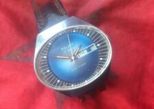 Wristwatch Poljot stadium USSR vintage Russian watch