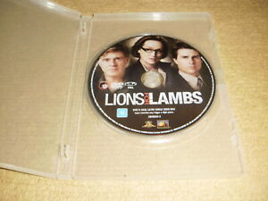 LIONS FROM LAMBS crime 2007 DVD as NEW no insert Tom Cruise meryl mystery R4