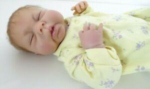 Reborn Baby Huti B A.D.G 04 Silicone Anatomically Correct Ashton Drake Girl