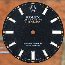 Rolex Milgauss 116400 Luminova Orange Dial Original