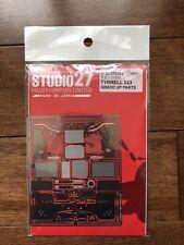 Studio 27 FP2044 Tyrrell 023 Photo etch detail up set for 1/20 F1 Model kit
