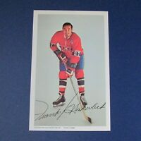 FRANK MAHOVLICH  1972-73  Montreal Canadiens  postcard 1972 1973 Maple Leafs  MT