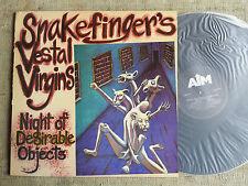 Snakefinger's Vestal Virgins – Night Of Desirable Objects - - LP