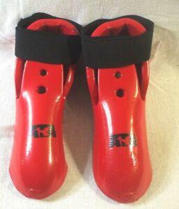 ATA Macho Youth/Woman Sparring Boots Kicks -Foam Footgear Taekwondo Martial Arts